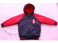 Boys Winter Jacket / Coat 5-6 years immaculate condition