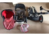 Quinny buzz travel system WITH car seat base!