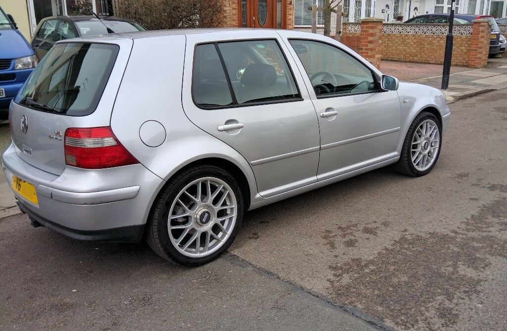 vw golf mk4 v6 4motion 2 8 2002 silver 4wd in southall. Black Bedroom Furniture Sets. Home Design Ideas