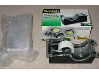 Brand New Scotch Tape Dispensers and free tape