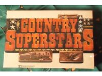 VERY NICE UNUSED BOXED SET COUNTRY SUPERSTARS CASSETTES