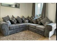 Brand new high quality sofas 4 seater to 12 seater with free footstool