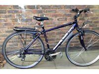 20 inch CARRERA Crossfire HYBRID city road BIKE lightweight aluminium bicycle