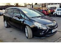 VAUXHALL ZAFIRA TOURER 2.0 SRI CDTI 5d AUTO 162 BHP Apply for finance Onl (black) 2014