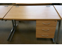 Desk Small Desk Office Desk Study Desk with drawers and key Also Office Chair available