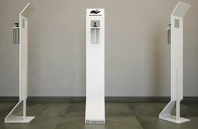 Dispenser / Distributore / Colonnina per igienizzante/gel disinfettante in ferro