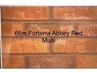 Forterra Abbey Red Multi Brick 65mm £180 Per Pack