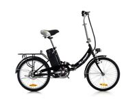 ELECTRIC FOLDING BIKE £399 DILLENGER COMFORT - EX COND - LITTLE USE - RRP £790 - RANGE 20/30 MILES