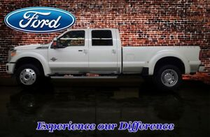 2016 Ford F-450 4x4 Crew Cab Platinum Dually