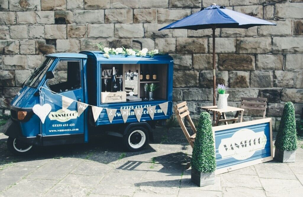 Piaggio Ape Mobile Gin / Prosecco Bar Business for sale  REDUCED PRICE     REDUCED PRICE | in Mapplewell, South Yorkshire | Gumtree