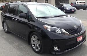 2014 Toyota Sienna SE HEATED SEATS BLUETOOTH Clean Car Proof, On