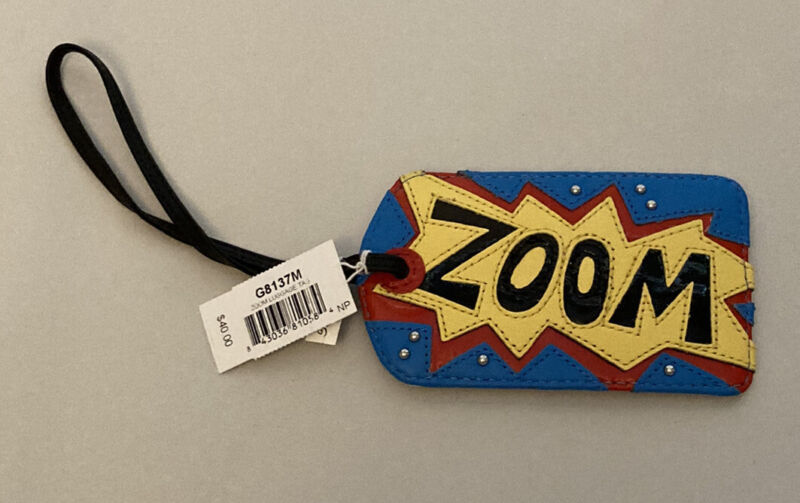 NEW BRIGHTON  ZOOM LUGGAGE TAG