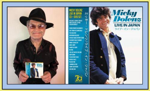 MICKY DOLENZ DIRECT 2U! NEW MICKY DOLENZ LIVE IN JAPAN CD SIGNED! ** THE MONKEES