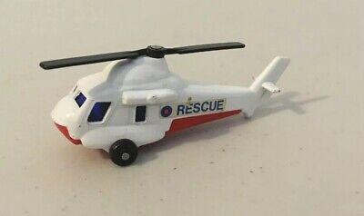 (A) Vintage 1976  Matchbox Lesney Superfast #75 Seasprite Helicopter White #B