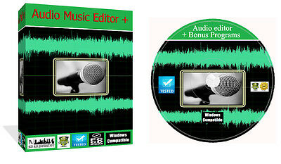 Sound Live Audio Music Recording Editing Production Home Studio Software PC CD ()