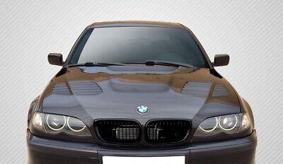 Used, BMW 3 Series E46 4DR 02-05 Carbon Creations DriTech Carbon Fiber GTR Hood for sale  USA