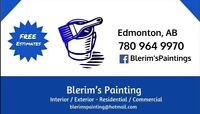 •Fully licensed •Insured, WCB•Professional Painting Service
