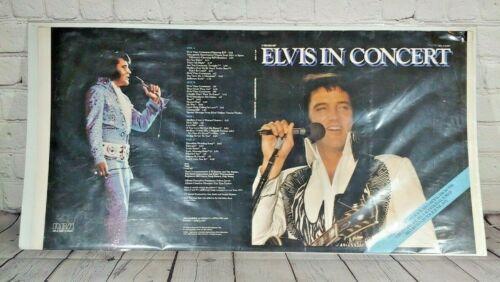 """Elvis Presley in Concert Poster 27x14"""""""