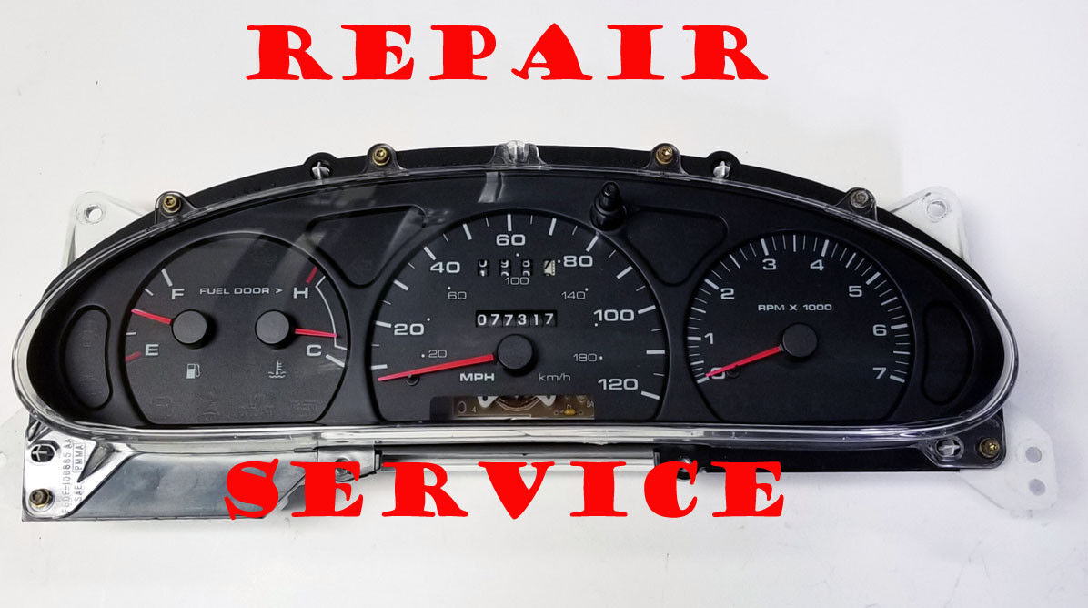 1994 2004 FORD TAURUS INSTRUMENT CLUSTER SOFTWARE & ODOMETER CALIBRATION SERVICE