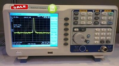 Digital Spectrum Analyzer 9k-1.8ghz Tracking Generator 6.5tftlcd Usb Lan Vga
