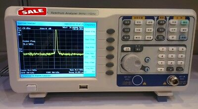 Digital Spectrum Analyzer 9khz-1ghz Tracking Generator 6.5tftlcd Usb Lan Vga