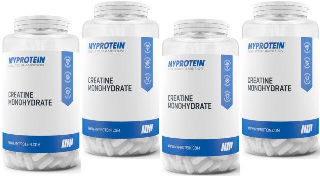 MyProtein Creatin Monohydrat 1000 Tabletten Kreatin Creatinmonohydrat My Protein