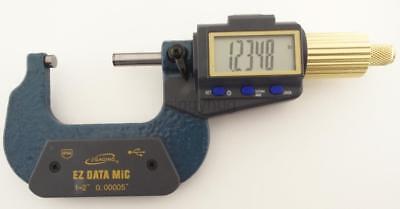 """iGaging digtital micrometer caliper 1-2"""" 0.00005"""" EZdata SPC"""