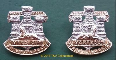 THE DEVONSHIRE & DORSET REGIMENT COLLAR BADGES