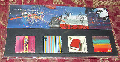 ARTISTS' TALE Royal Mail Presentation Pack No 305  4 Stamps