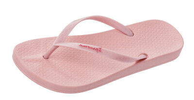 Ipanema Anatomica Tan 21 Womens Beach Flip Flops Pool Sandals Light Pink