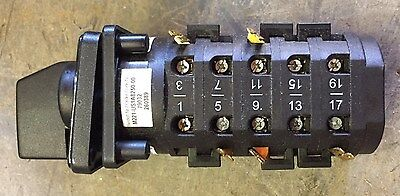Saelzer Rotary Cam Switch M221-us1a8250-00 4 Position 20 Term. 20a Generator New