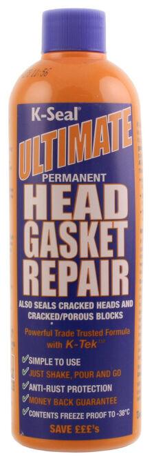 472ml K-SEAL ULTIMATE PERMANENT HEAD GASKET REPAIR SEAL CRACKS ANTI RUST ENGINE