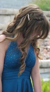 Teal Blue Short Prom/Graduation Dress