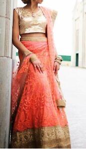 Brand new luxury designer Saree/ sari / lenga