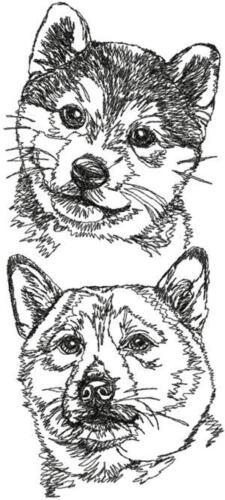 Shiba Inu Dog Breed Personalize Embroidered Fleece Stadium Blanket Gift