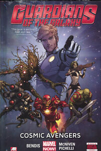 GUARDIANS OF THE GALAXY VOL #1 HARDCOVER COSMIC AVENGERS Bendis Marvel Comics HC
