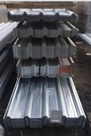 Box profile steel roof sheets