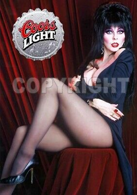 Fridge Magnet Sexy Elvira Coors Light Halloween sexy witch horror macabre babe
