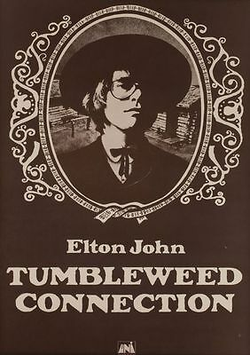 Elton John Tumbleweed Collection POSTER