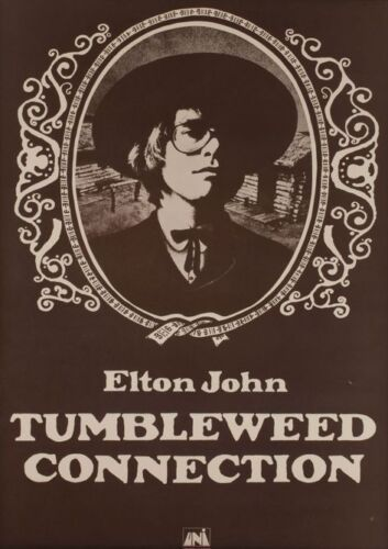Elton John Tumbleweed Collection POSTER
