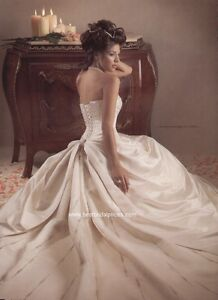 Maggie Sottero Porscha Wedding Dress w/ clutch!