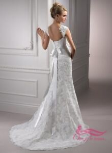 "Robe de mariée -Beautiful Maggy Sottero wed. dress  Lorie., 5""4"