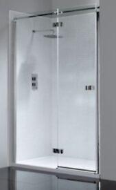 Brand New Shower Frameless Hinge Door