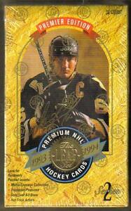 1993-94 LEAF .... SERIES 2 box ... first Leaf WAYNE GRETZKY card