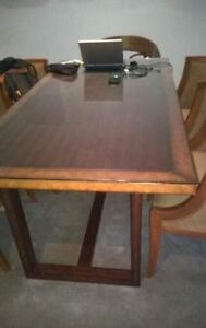 Glass top dining table for sale Mermaid Beach Gold Coast City Preview
