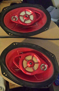 Sony Explod 6x9 car speakers