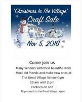 Christmas In the Village Craft Sale