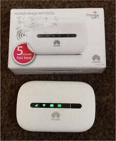 Mobile wifi device