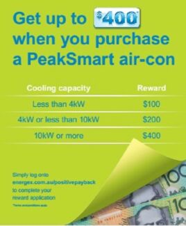 Air conditioner deal on Panasonic RZTKR model supply and install