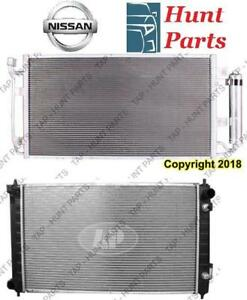 All Nissan AC compressor Condenser Radiator Support Fan Cooling Compresseur AC Condenseur Radiateur Support Ventilateur